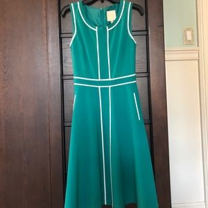 Green ModCloth dress, with pockets